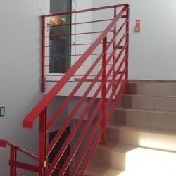 balustrada czerwona 01