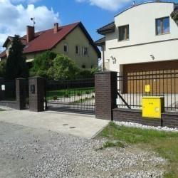 artystyczne ogrodzenie dla posesji