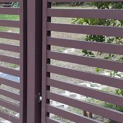 metalowa brama wjazdowa