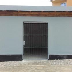 drzwi kratka